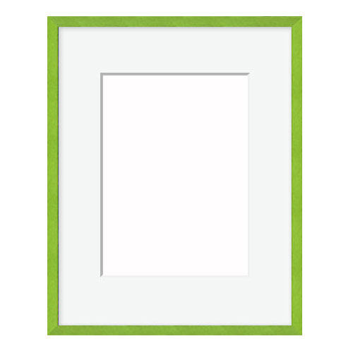 Metal Picture Frame With Mat 18ft Green Metal Frame