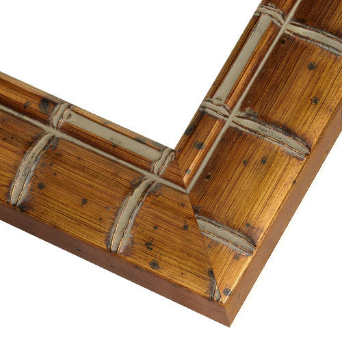 Bamboo Picture Frames | MAW2 Antique Copper Bamboo Frame ...