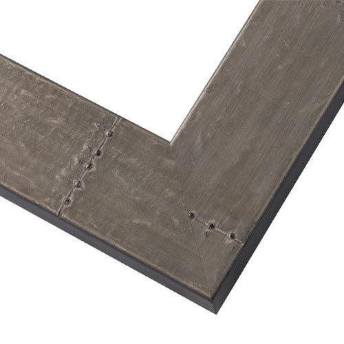 WX535 Aged Zinc Frame