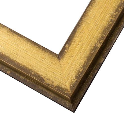 WX542 Antiqued Gold Frame