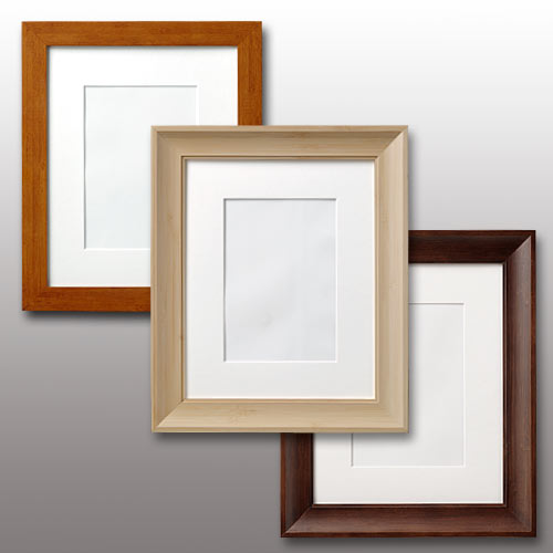 Wall Photo Frames Made From Real Bamboo Popular Size