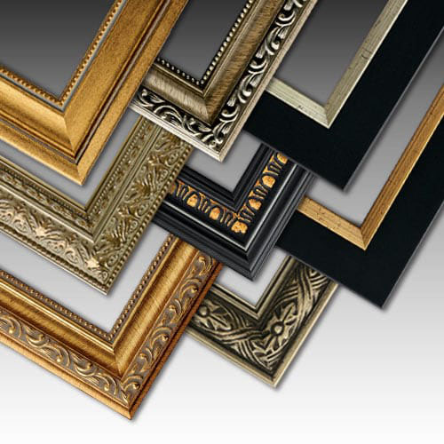 slender and subtle detailed and distinctive these genuine wood picture frames enhance their contents and work with any dcor with something for everyone