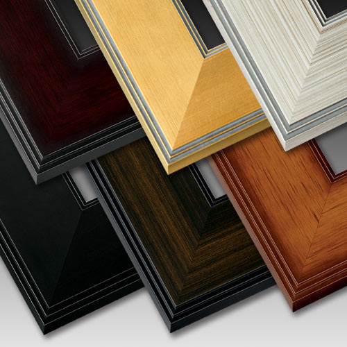 one of our best selling collections these natural wood picture frames are a graceful and elegant choice