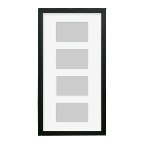 Black Collage Frame | 10x20 Collage Frame with Mat and Hardware ...