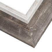 Reclaimed Barnwood Frame Corner Detail