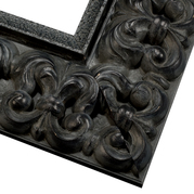 Antique Black Frame Corner Detail