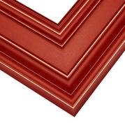 Red Frame Corner Detail