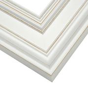White Frame Corner Detail