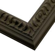 Satin Black Frame Corner Detail