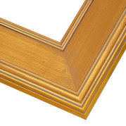 Plein Air Gold Frame Corner Detail