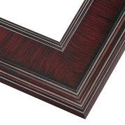 Cherry Mahogany Frame Corner Detail