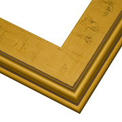 Gold Plein Air Frame Corner Detail