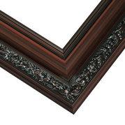 Mahogany Frame Corner Detail