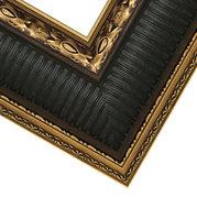 Gold Spruce Green Frame Corner Detail