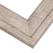 Rustic Gray Frame Corner Detail
