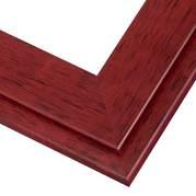 Cherry Red Frame Corner Detail