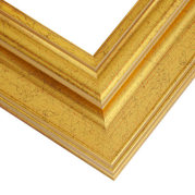 Rich Gold Frame Corner Detail