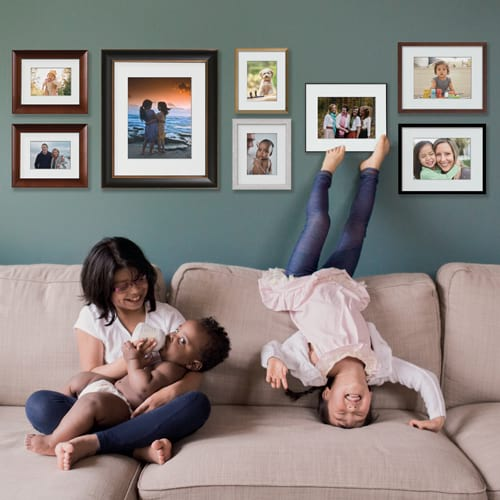 Large Archival 8-piece Gallery Wall