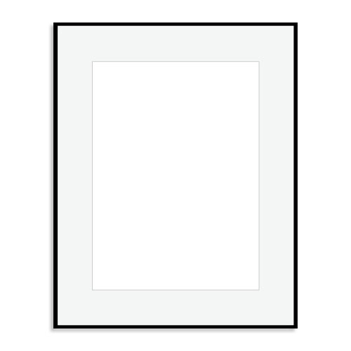Matte Black Wood Frame | 22AP1620 Matte Black Picture Frame ...