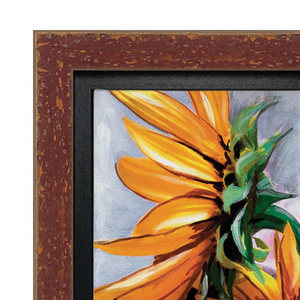 Burgundy Canvas Floater Frame