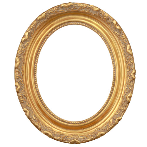 4OVW Ornate Gold Frame