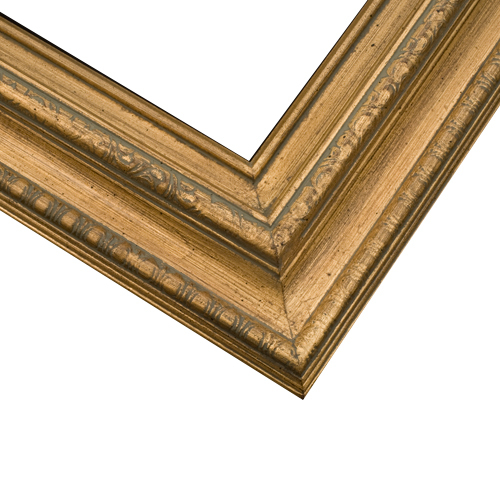 1ETS Brushed Gold Frame