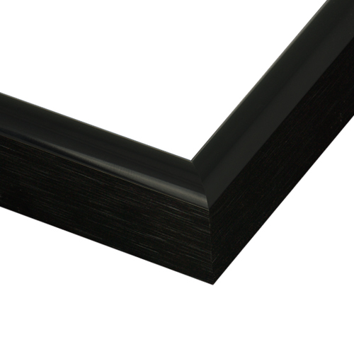 222BLK Shiny Black Frame