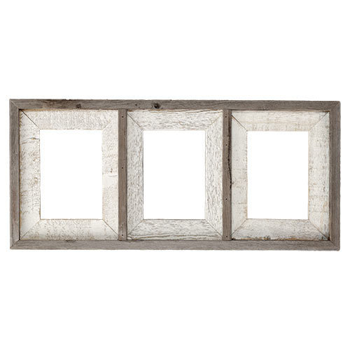 3BW3C57 Whitewash Frame