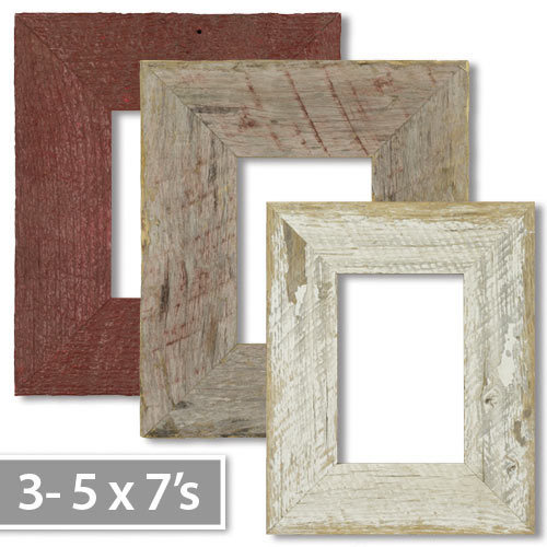 5x7 Décor Colors 3-piece Tabletop Picture Frame Set
