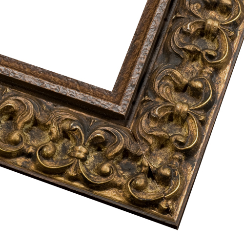 Custom Wood Picture Frame Antique Gold Wood Picture Frame Cos2
