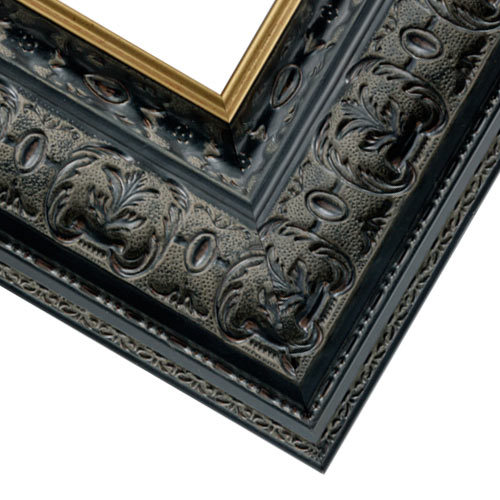 Black w/ Gold Picture Frame
