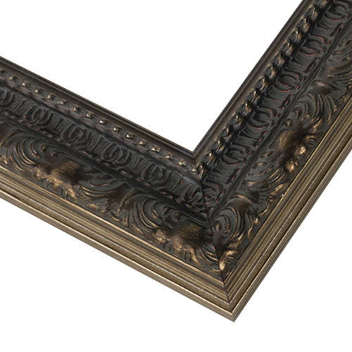 WX567 Antiqued Silver Frame