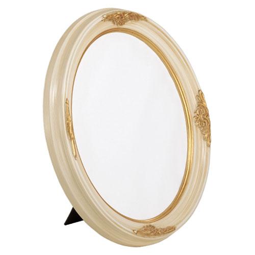 5OVTT Brushed Ivory w/ Gold Frame