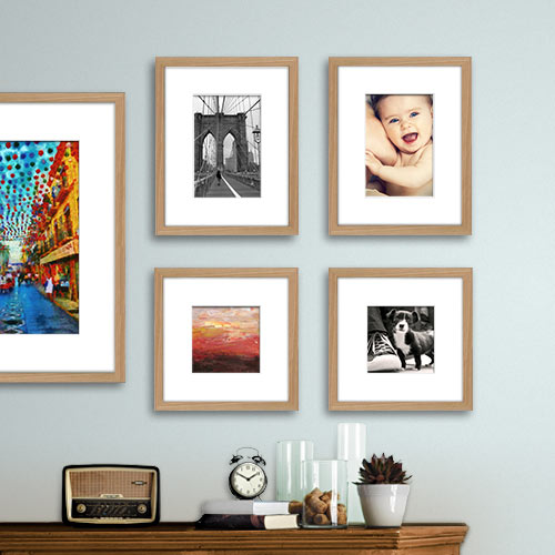 Natural 5-piece Gallery Wall