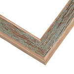 Weathered Green Barnwood Frame