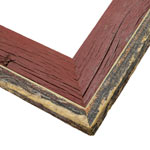 Weathered Red Barnwood Frame