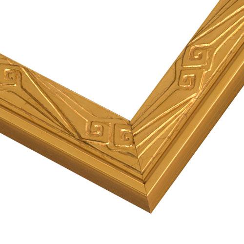 JBA3 Gilded Gold Leaf w/ Nouveau Frame