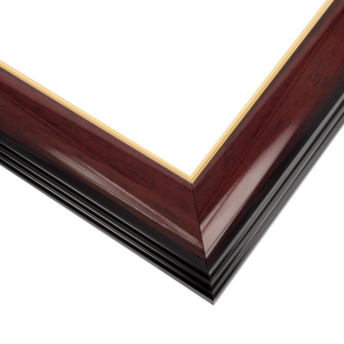 WX575 Gloss Cherry w/Gold Frame