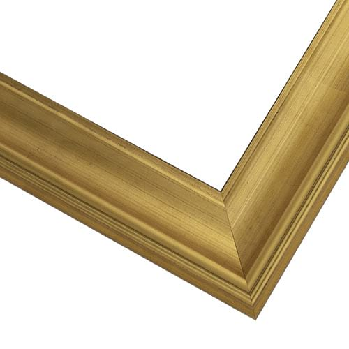 WX588 Brushed Gold Frame