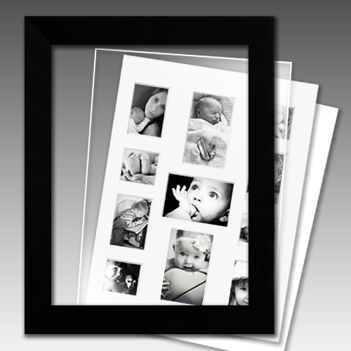 Archival Collage Picture Frame Collection