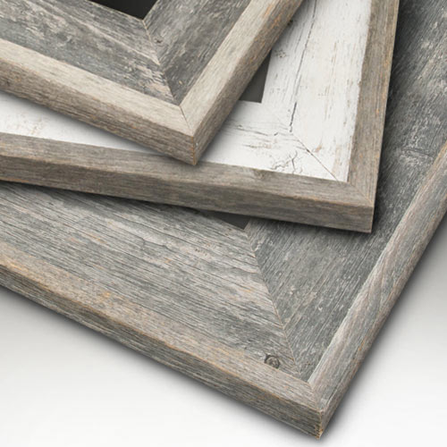 Eco Friendly Reclaimed Genuine Wood Picture Frames