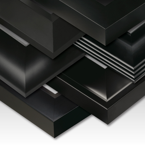 Black Satin Grande Picture Frame Collection