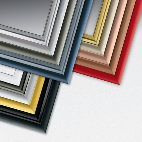 Economy Rainbow Metal Picture Frame Collection