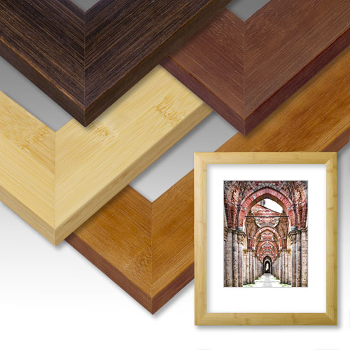 Fine Bamboo Picture Frame Collection