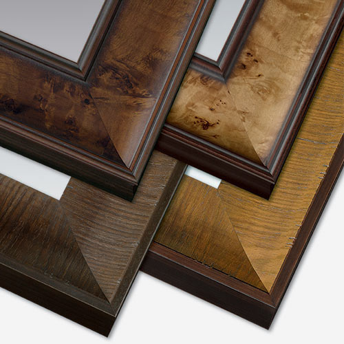 Fine Wood Veneers Picture Frame Collection