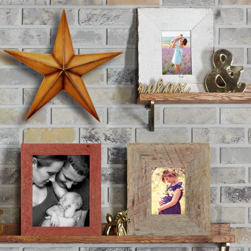 Kentucky Barnwood Tabletop Picture Frame Collection