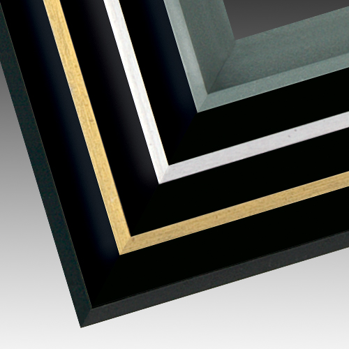 Custom Metal Frames | Metal Canvas Floater | PictureFrames.com