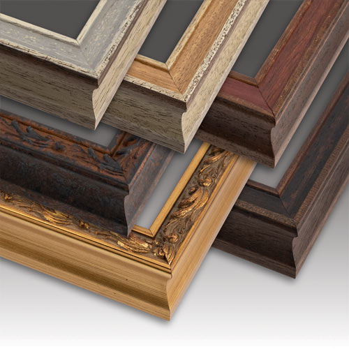 Old World Canvas Picture Frame Collection