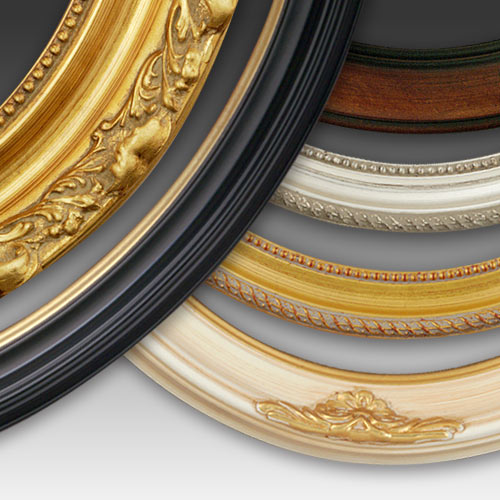 Oval Frames Picture Frame Collection