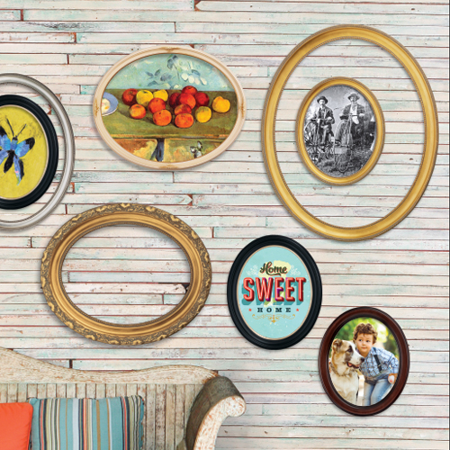 Oval Wall Picture Frame Collection